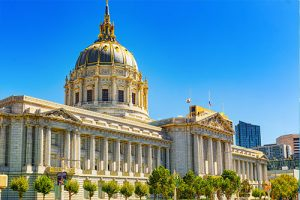 San Francisco City Hall Building In Daylight