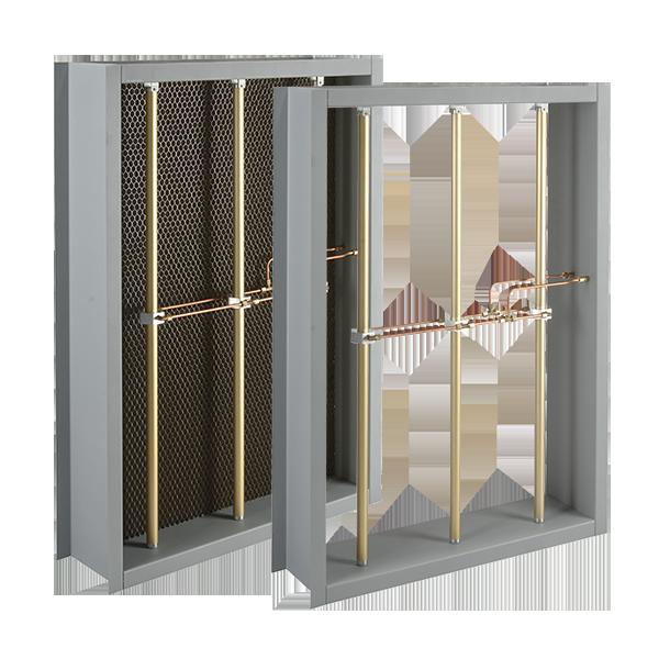 G90 Galvanized Airflow Measurement Station With Aluminum Airflow Sensing Elements & Straightener