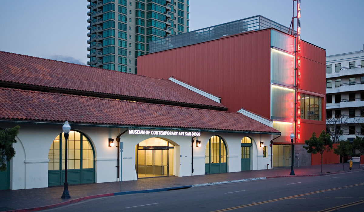 Museum of Contemporary Art in San Diego Building