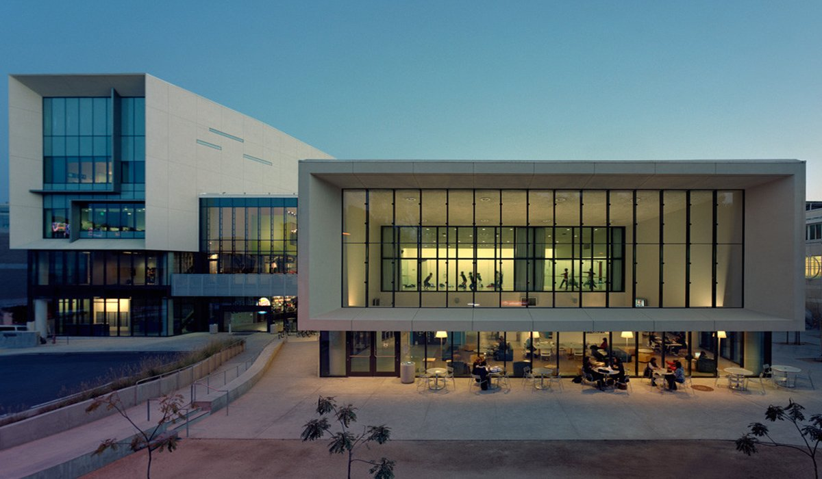 Price Center at UC San Diego with Students