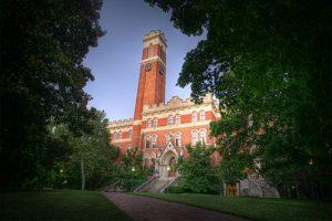 Vanderbilt University Building View Through The Trees