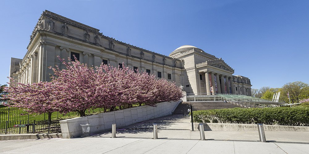 Brooklyn Museum during the day