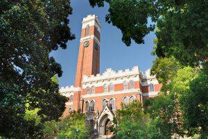 Vanderbilt University At Dusk