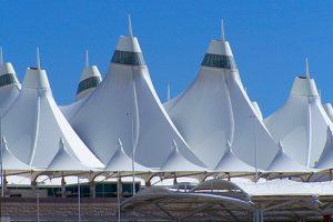 Denver International Airport From Above